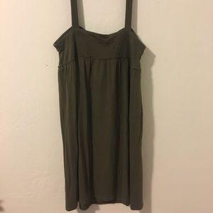 Gap Body Dress Army Green XL